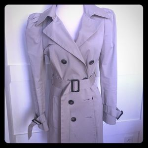 Zara Trench Coat in Taupe